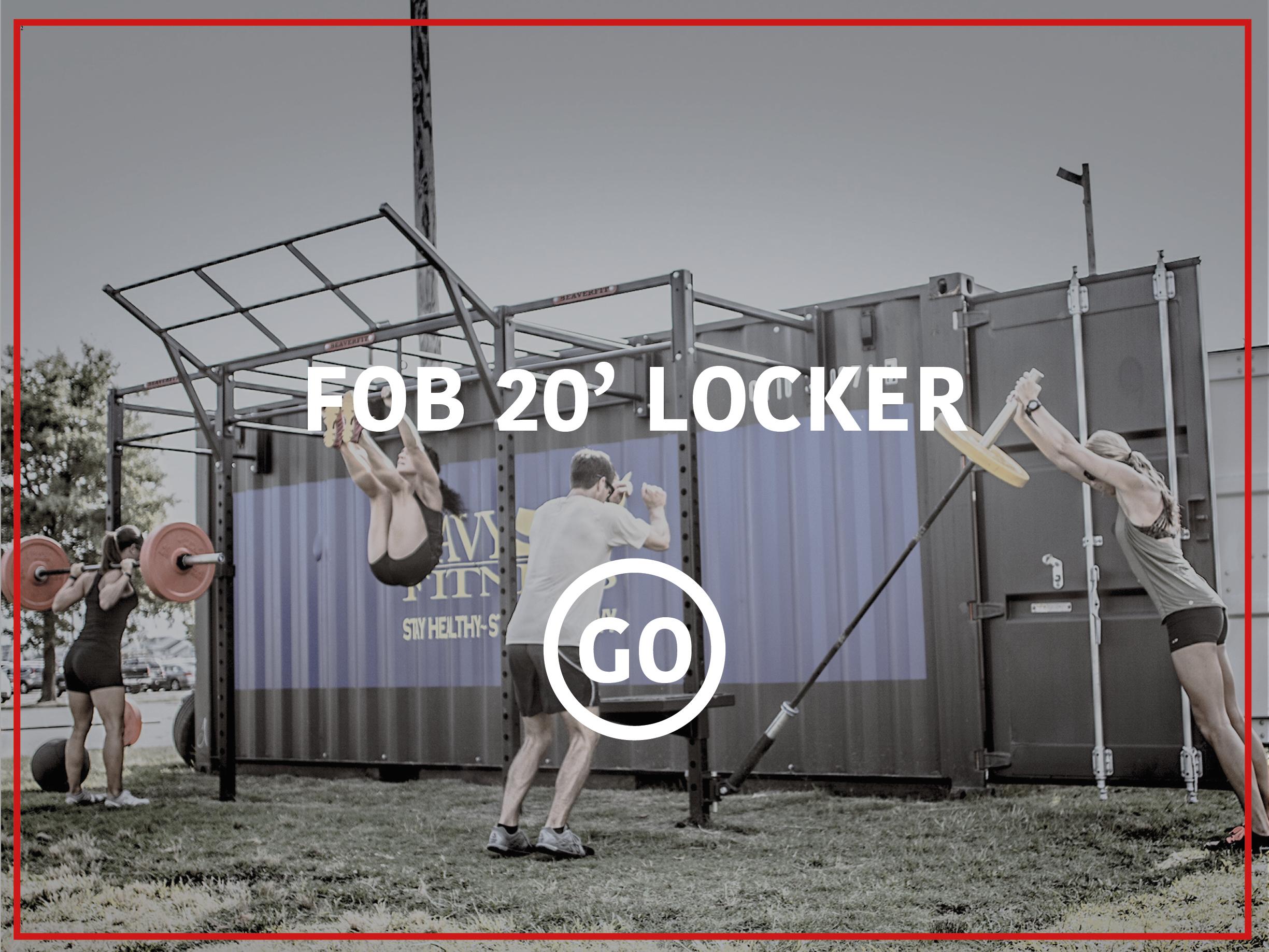 20' Deployable Lockers