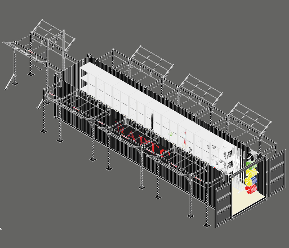 40'  Deployable  Locker Main Image
