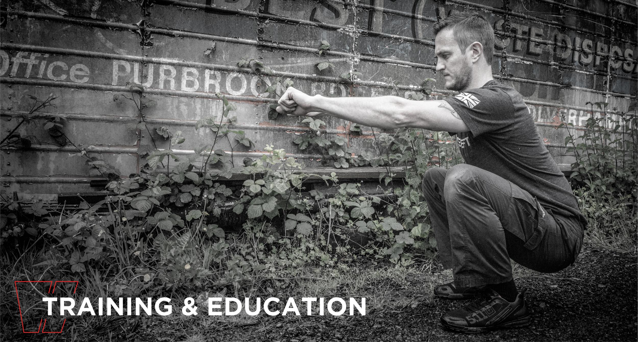 Training & Education Main Header