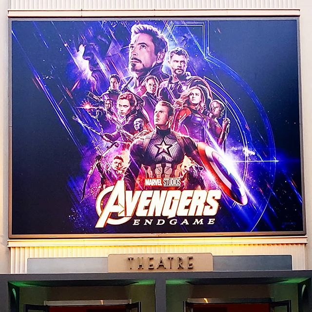 By far, my favorite place to watch any movie is at the @disneystudios. Thank you for inviting us to watch an advanced screening of @marvelstudios #AvengersEndgame. Everything leads up to this moment... @avengers Endgame is in theaters this Friday! #dontspoiltheendgame #marvel #avengers #disney #movie #family  #spiderman #ironman #captainamerica #infinitywar #thor #avengersinfinitywar #avengersendgame #marvelcomics #hulk #thanos #tomholland #tonystark #comics #captainmarvel #blackpanther #blackwidow #loki #peterparker #endgame #robertdowneyjr #deadpool #chrisevans #marvelstudios
