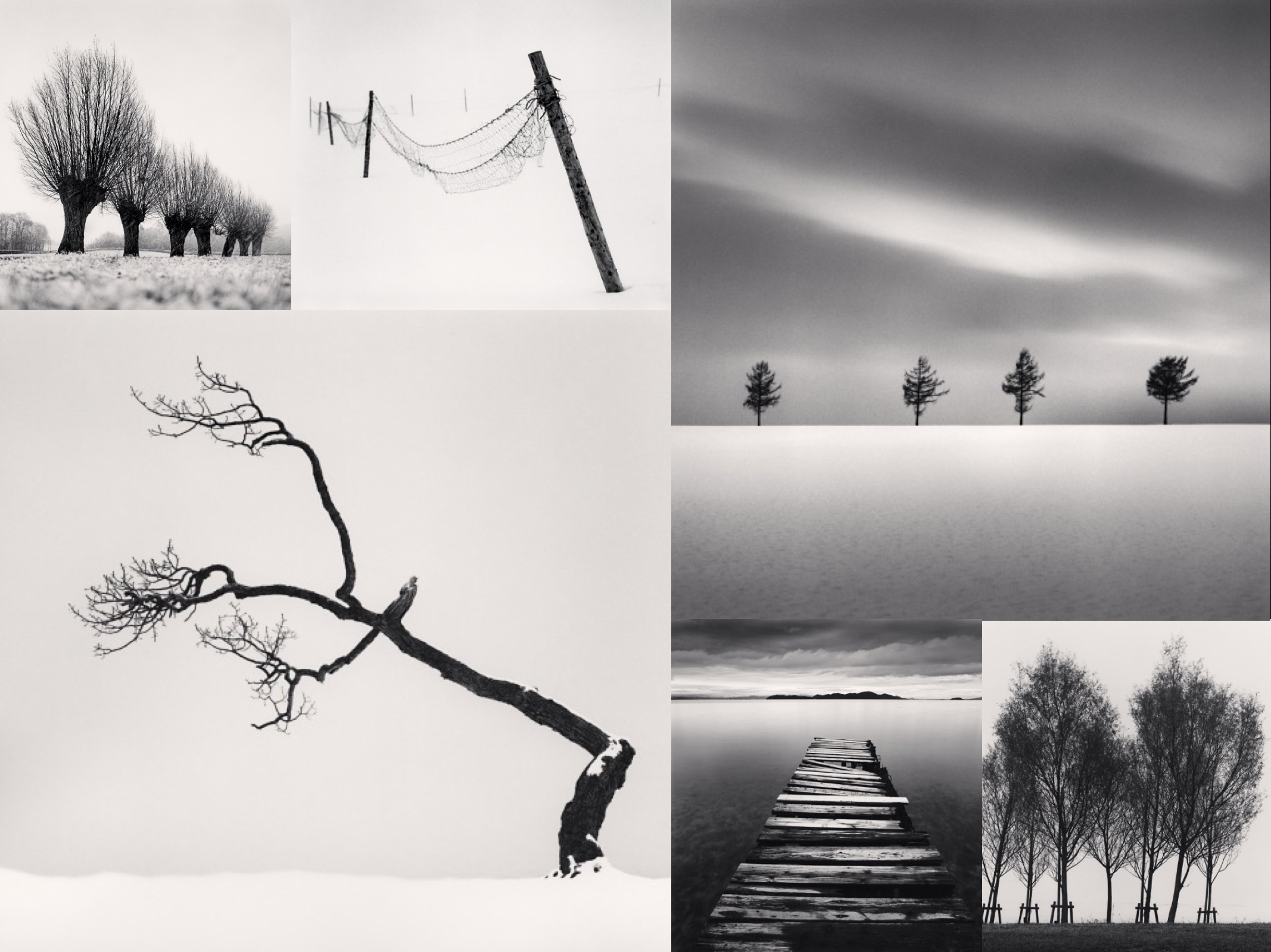 Some of Michael Kenna's famous images...