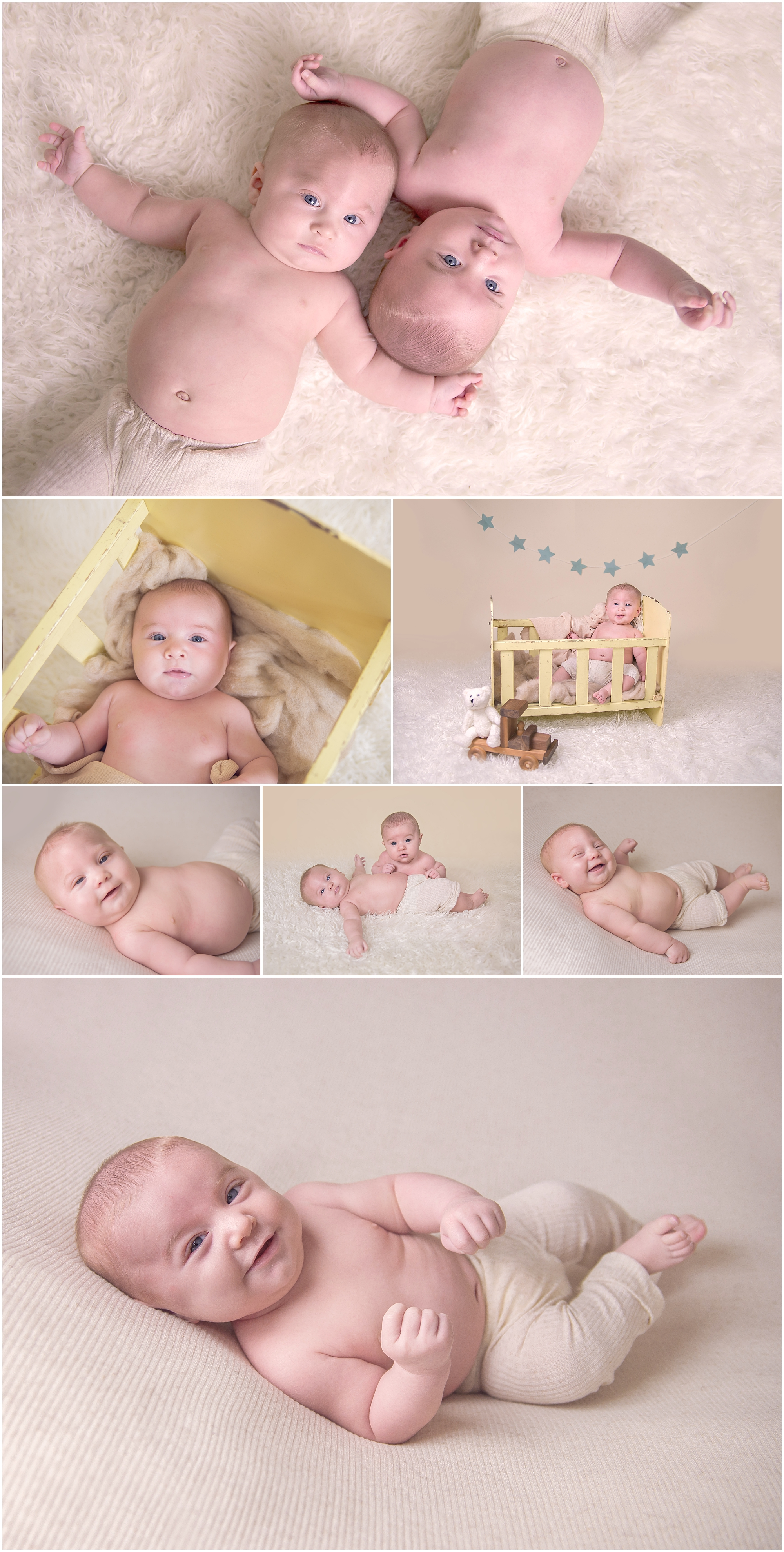 Twin boys 3 months session. Brothers together. www.Sweetsmilecreations.com  Sequim Washington Baby Photographer