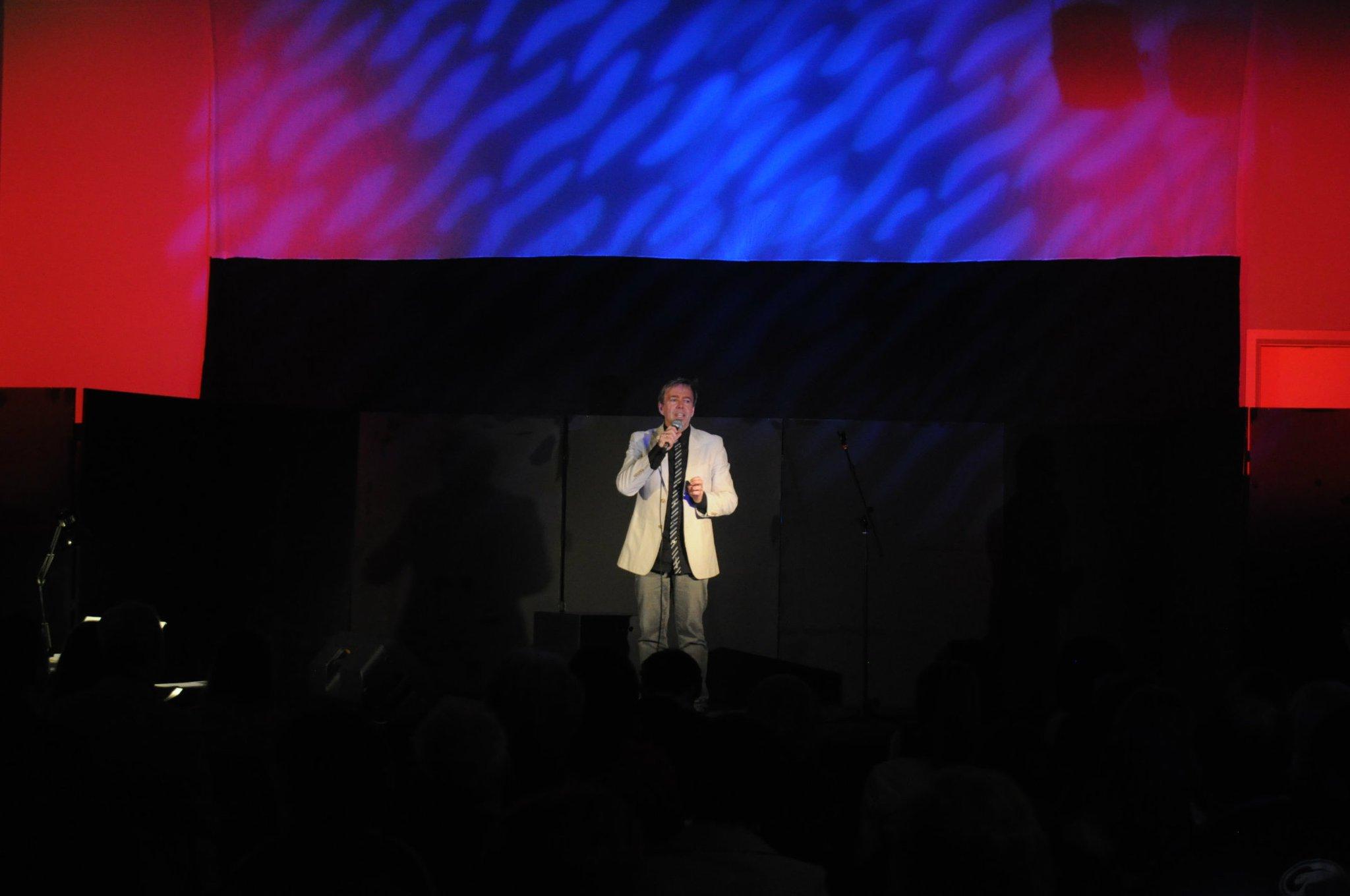 Ian introducing the Cabaret 2011