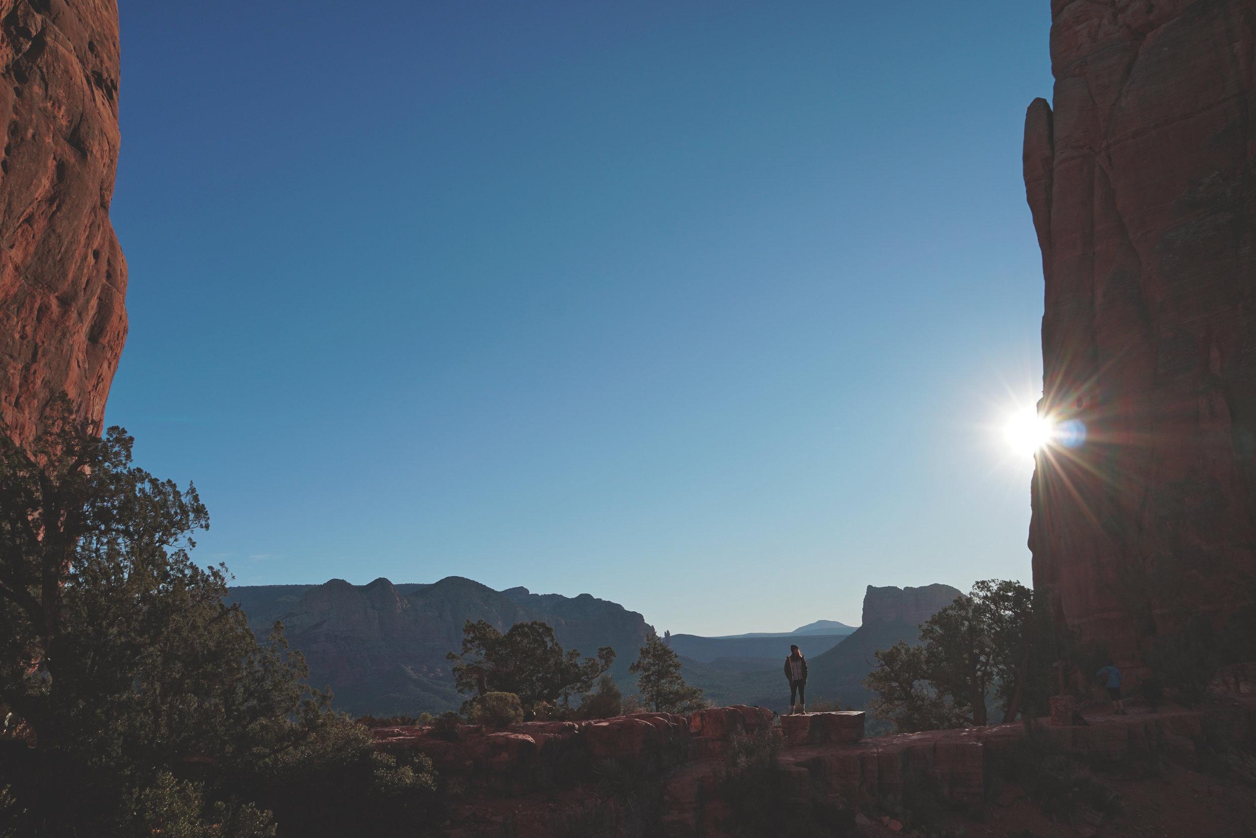 Sedona Arizona Cathedral Rock Hiking Guide