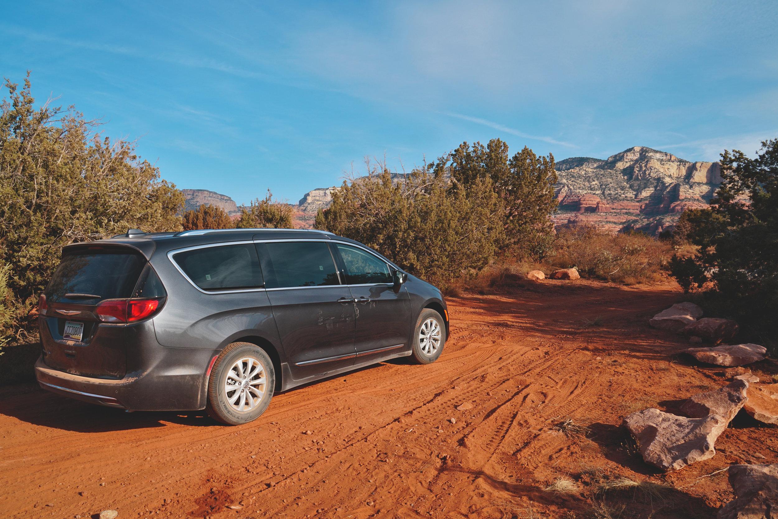 Sedona Arizona Free Camping Rental Van Public Land