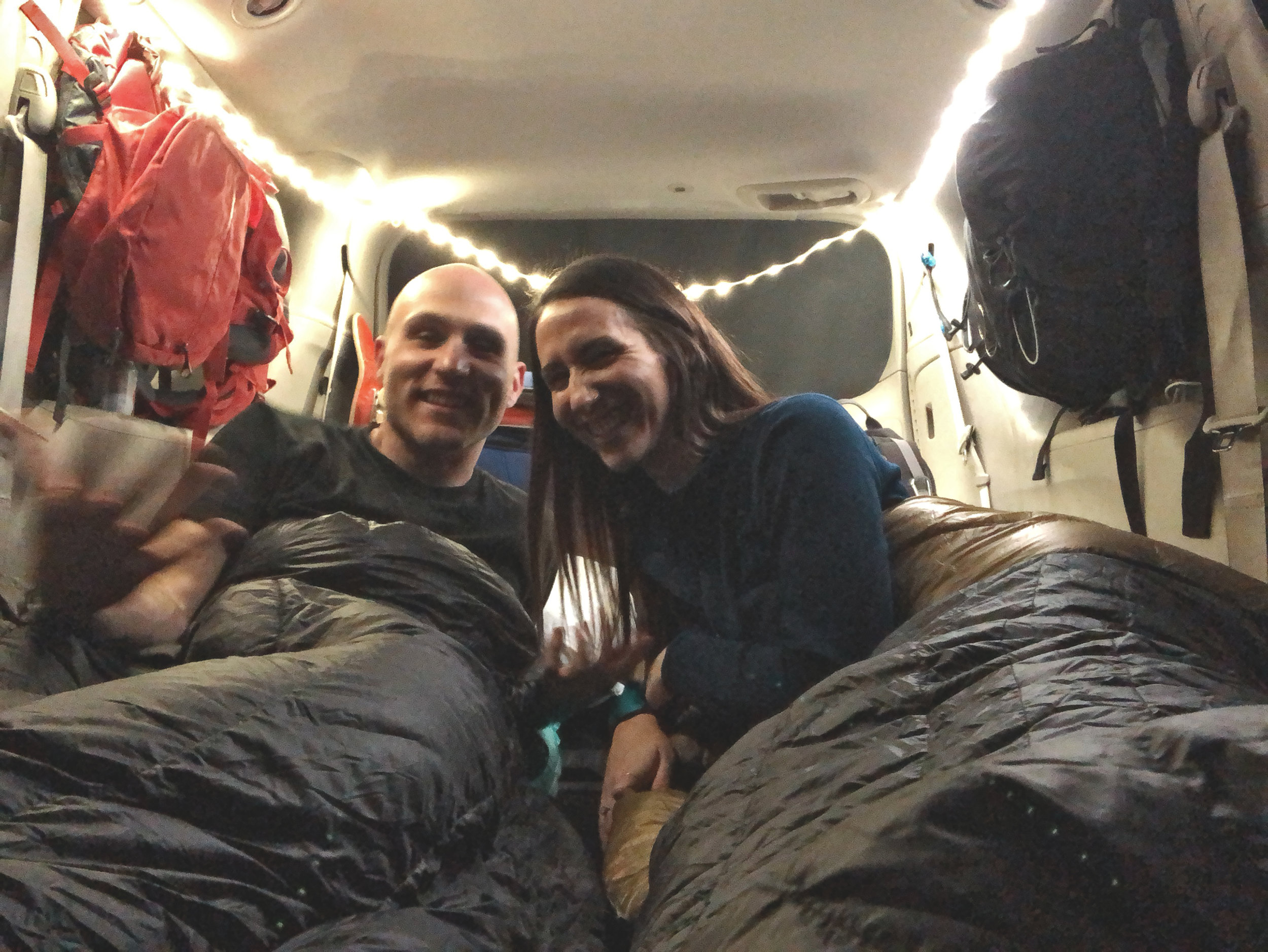 DIY rental van conversion to camper van sedona arizona