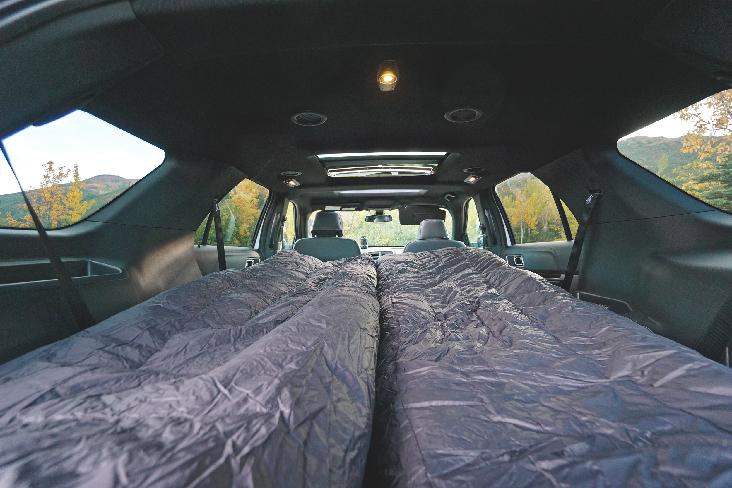 Ford Expedition DIY Sleeper Camper Bed Conversion