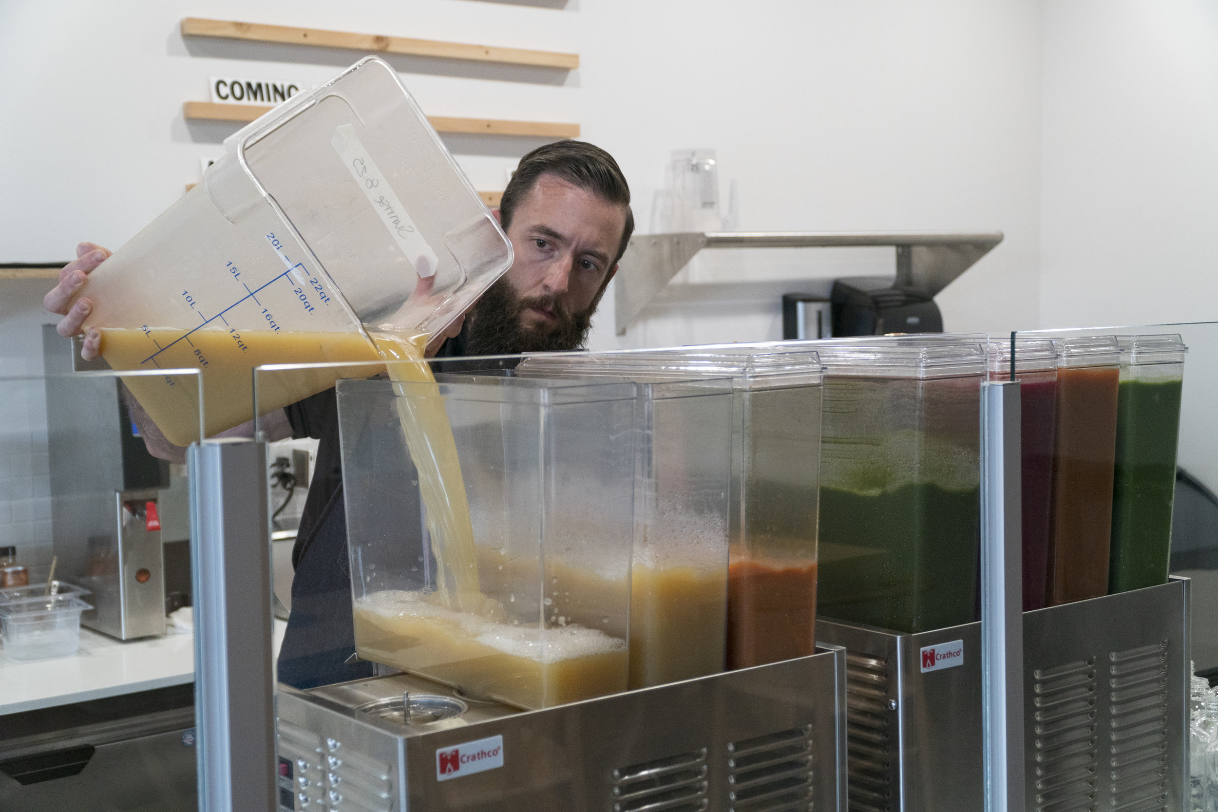 Gather Juice Shop Tacoma, WA Cold Press Juice Bar