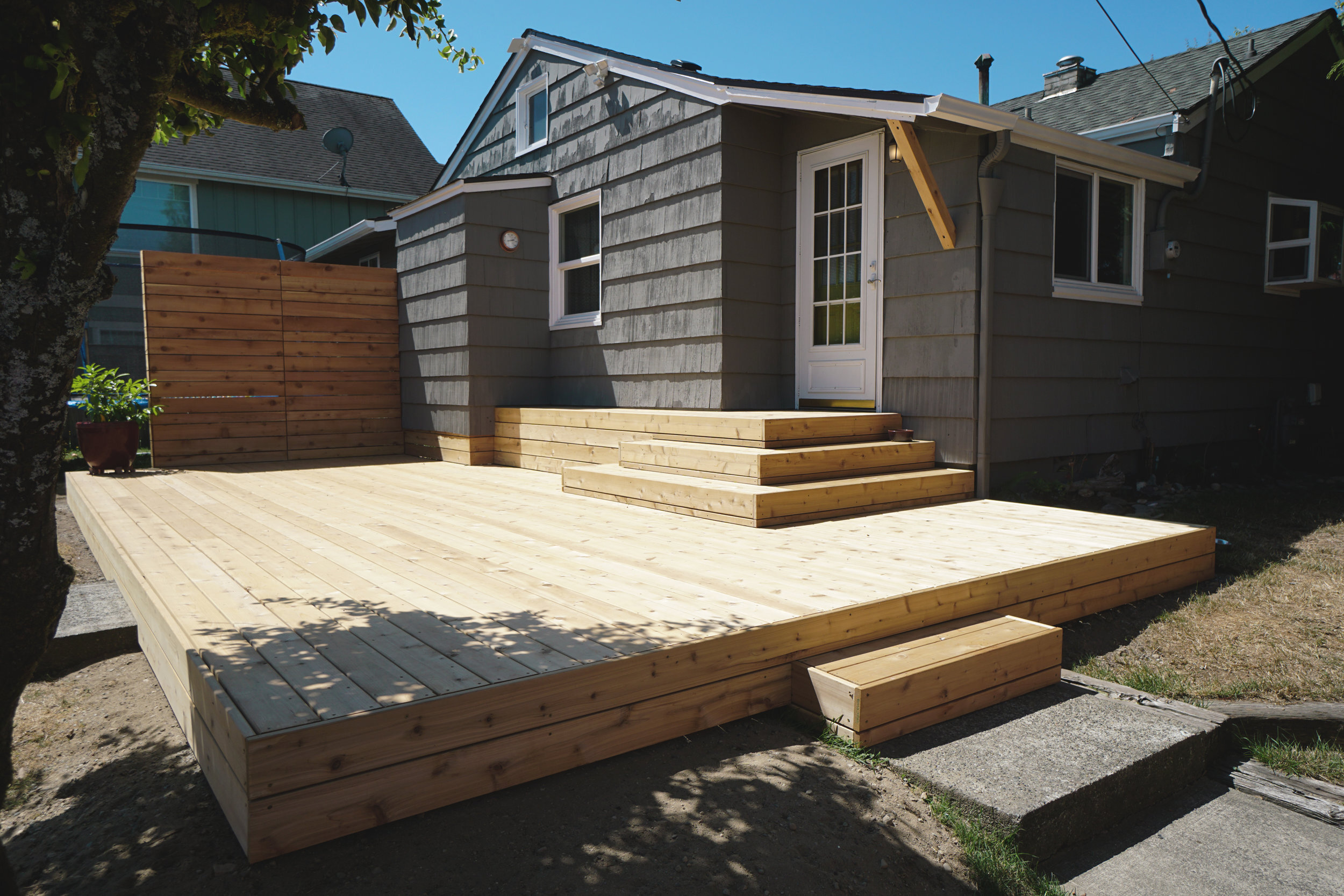 Deck Builder Tacoma Wilder Outdoor Spaces