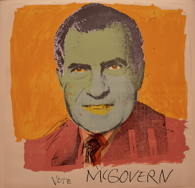 Vote McGovern, Andy Warhol, 1972 - Image ©Eric Fidler