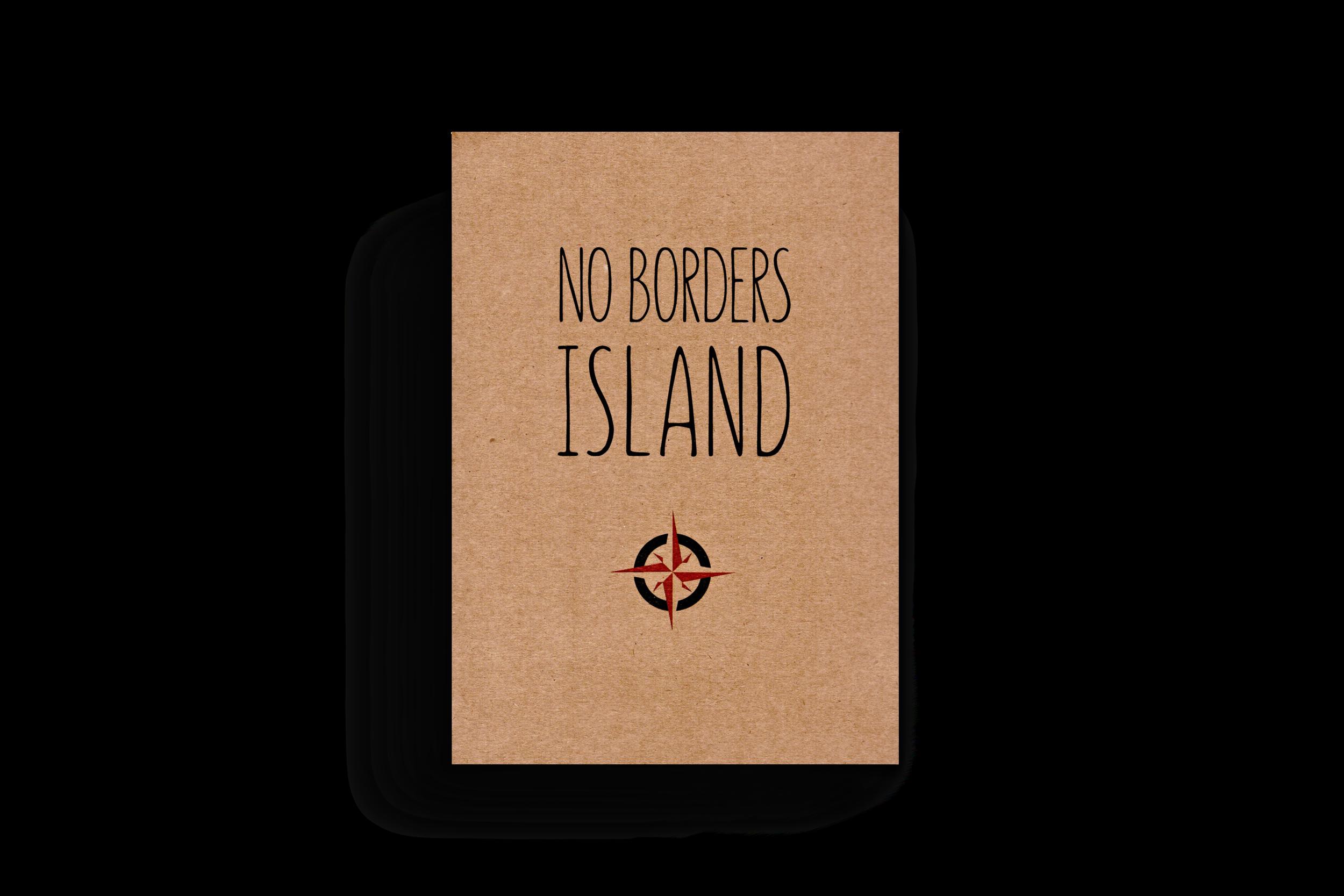 The Art Map Zine - No Borders Island