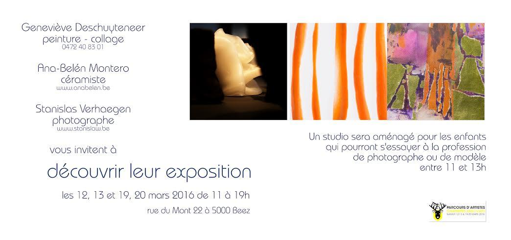 Invitation Chambres avec vues, Namur