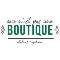 Ceci n'est pas une boutique, Namur, Logo