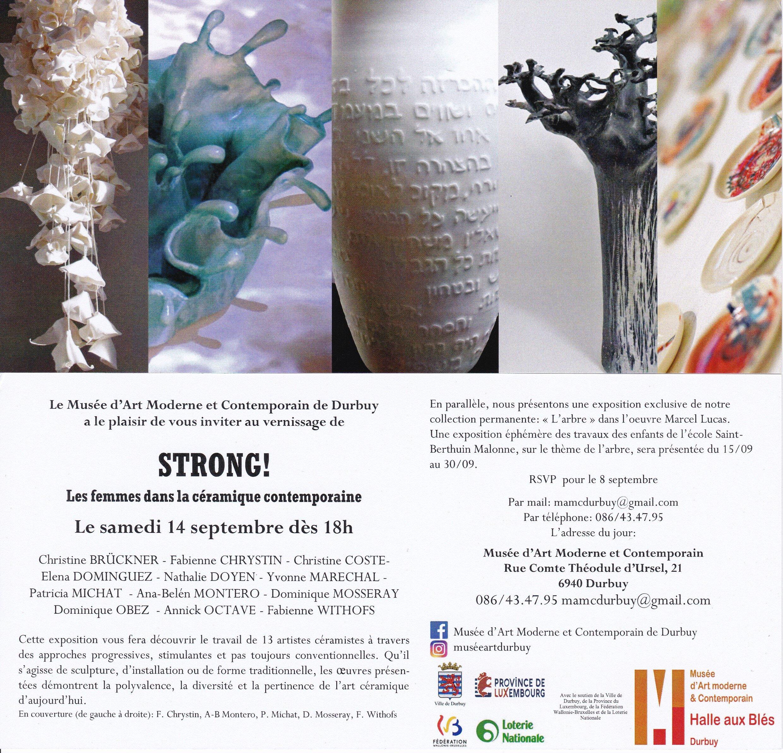 Invitation expo Strong Durbuy 2019
