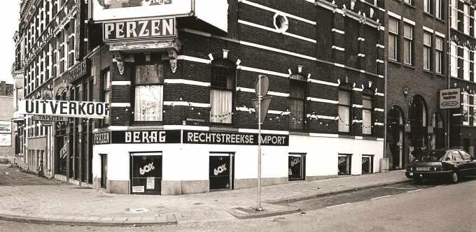 """Op de Boezemweg, tov """"de Veemarkt"""""""