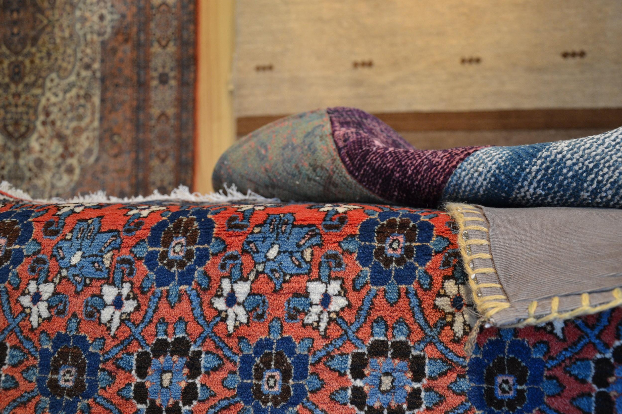 KLeuren van perzische tapijten