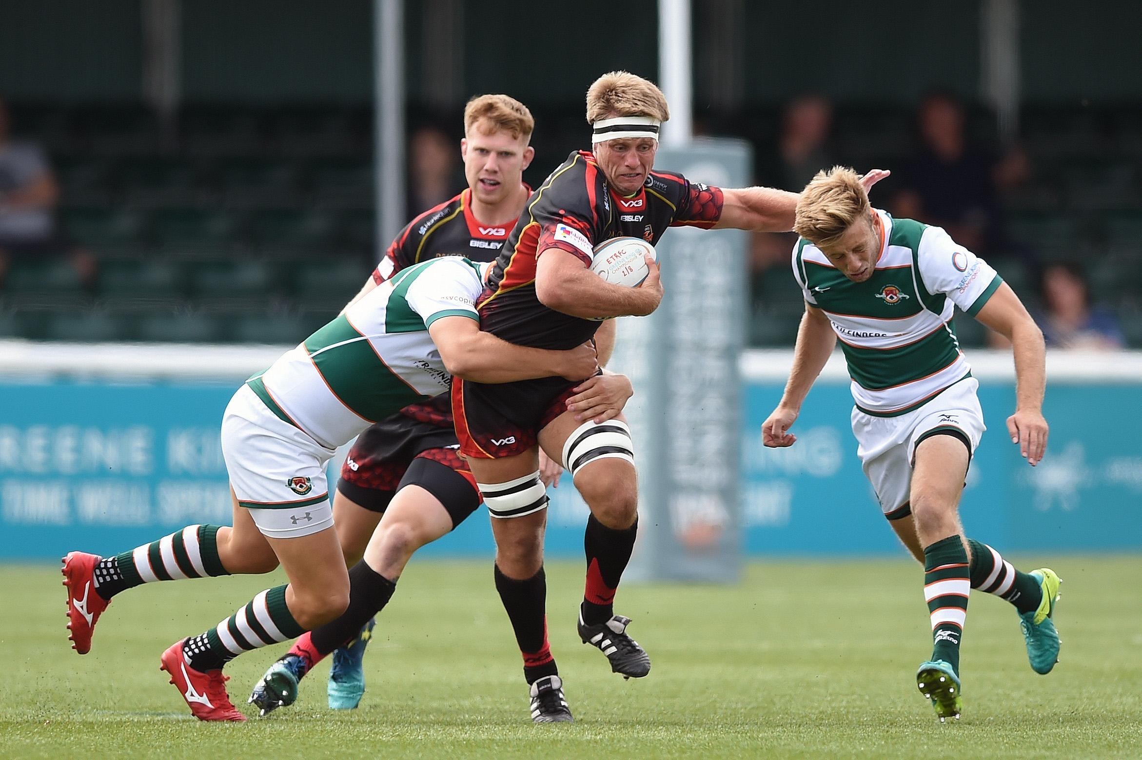 Nic Cudd in action against Ealing in preseason