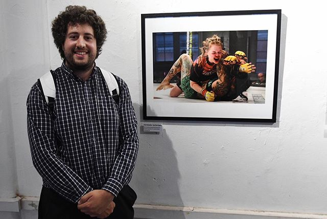 👏🎉Congratulations to @HuwEvansAgency photographer @cfairweatherphoto who's picture is being shown among the best of British press photography from the last year in London!  @thebppa @cagewarriors