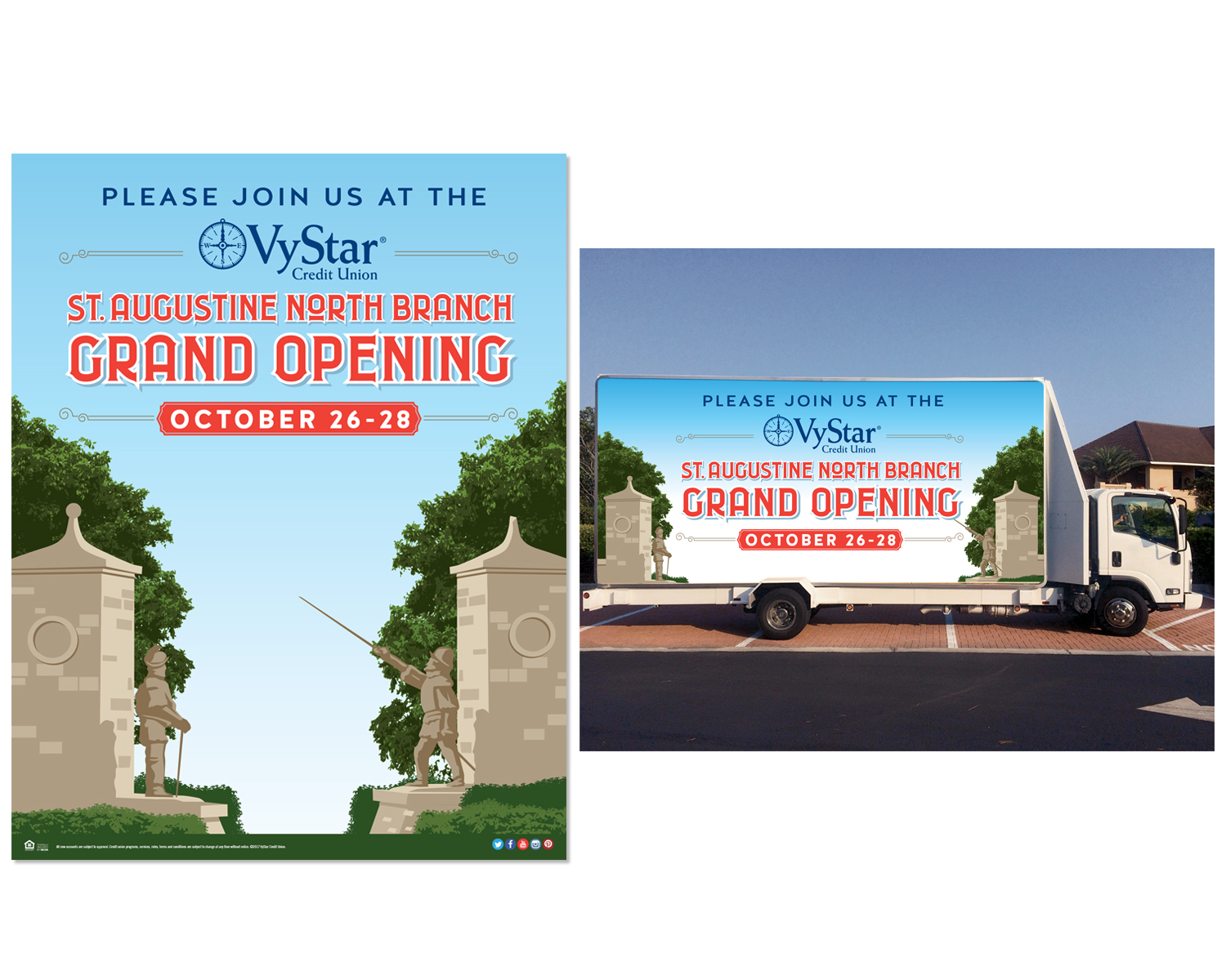 St. Augustine Grand Opening Campaign