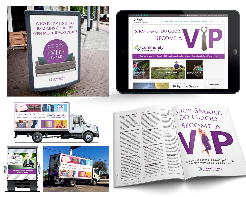 Community Hospice Thrift Shop Advertisements