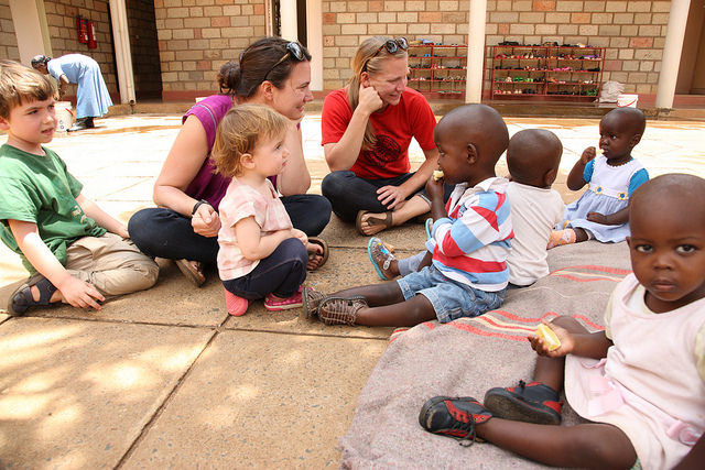 Friends are always welcome! - Lewa Children's Home welcomes and is always open to visitors and volunteers! Friends come if they are just passing through for the night, or come and stay for weeks to months.