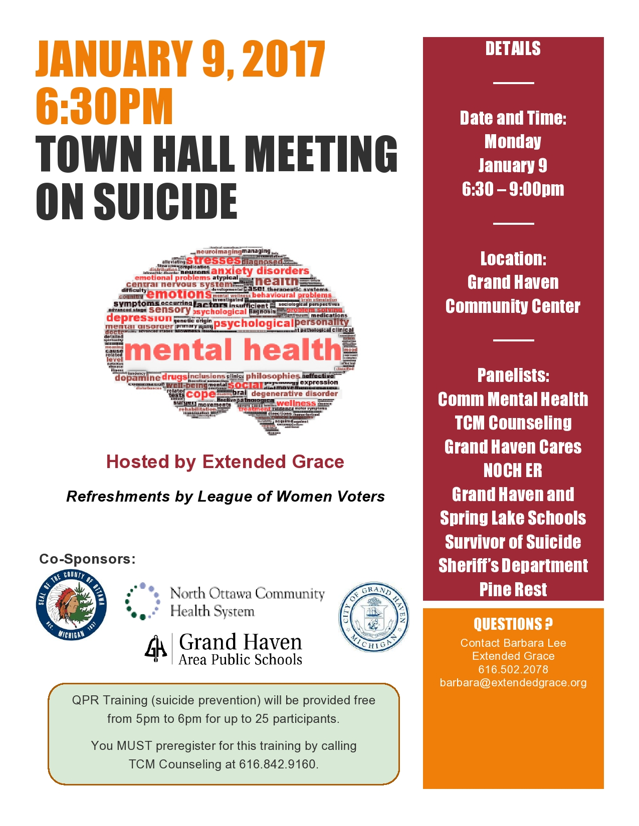 Town Hall Meeting on Suicide