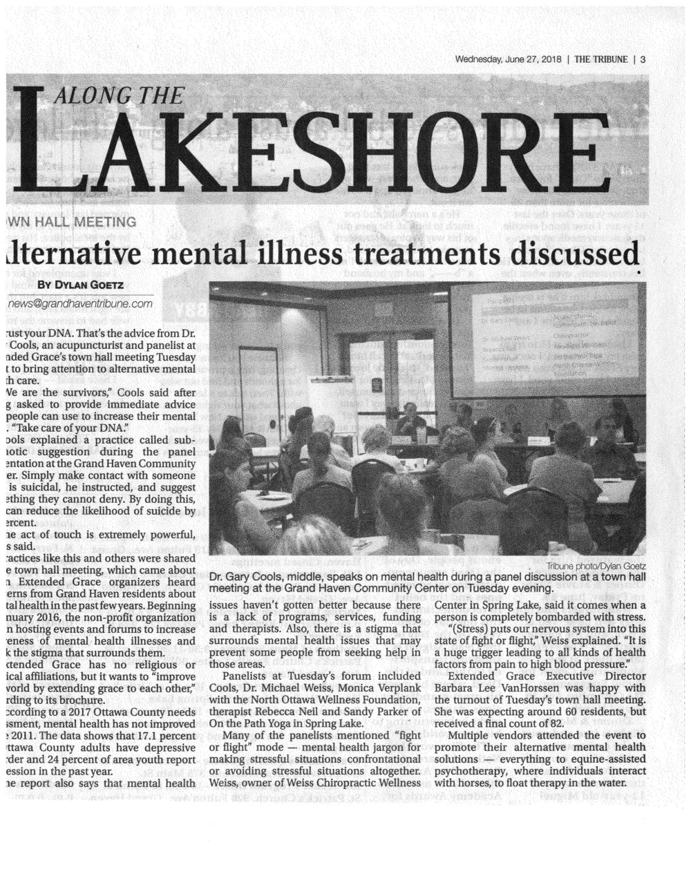 Forum to Focus on Alternative Treatments