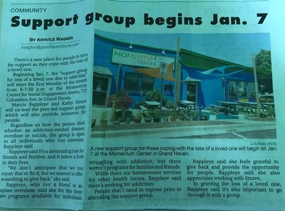 Support group begins Jan. 7