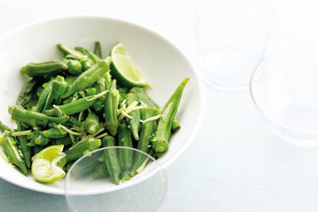 Steaming unlocks the succulence of okra. Here, the pods are tossed with slivered ginger and a Vietnamese-inspired scallion oil in an all-purpose dish that's great with grilled steak or chicken, or with nothing more than a fragrant bowlful of jasmine rice.