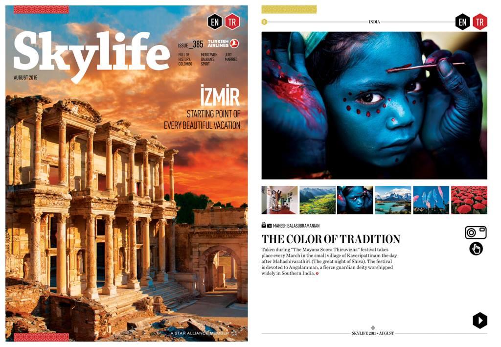 Skylife Magazine - Divine Makeover