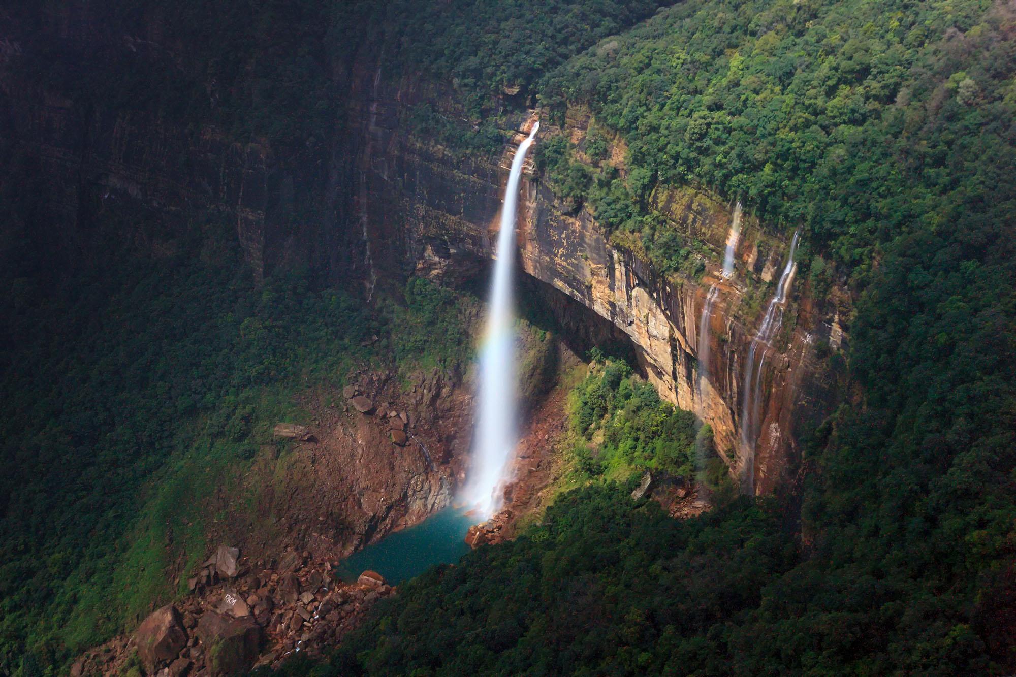 Nohkalikai Falls, Cherrapunjee, Meghalaya, India