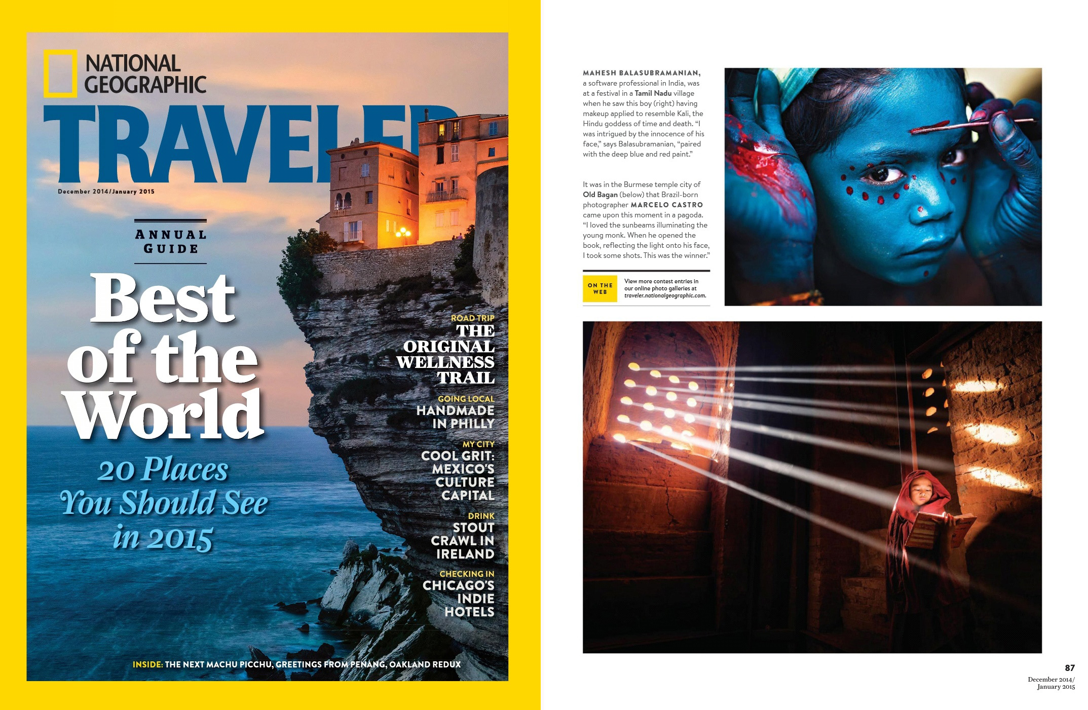 National Geographic Traveller, US - Featured