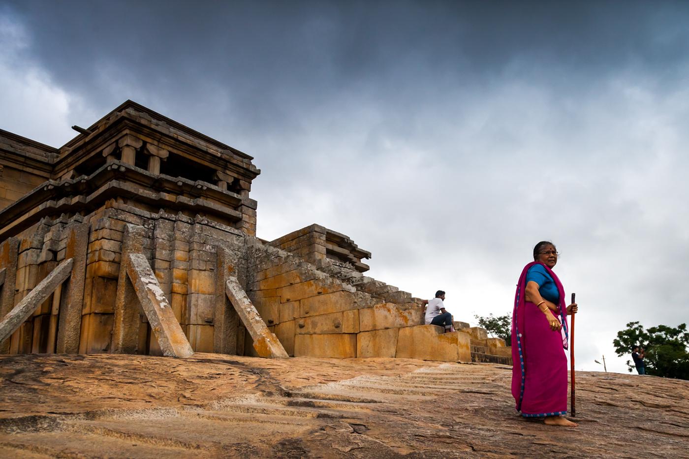 Gommateshwara Statue at Shravanabelagola, Karnataka, India