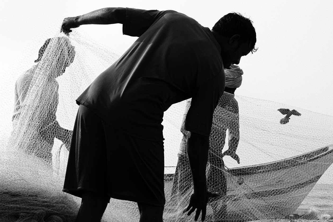 Fishermen @ Marina Beach, Chennai, India