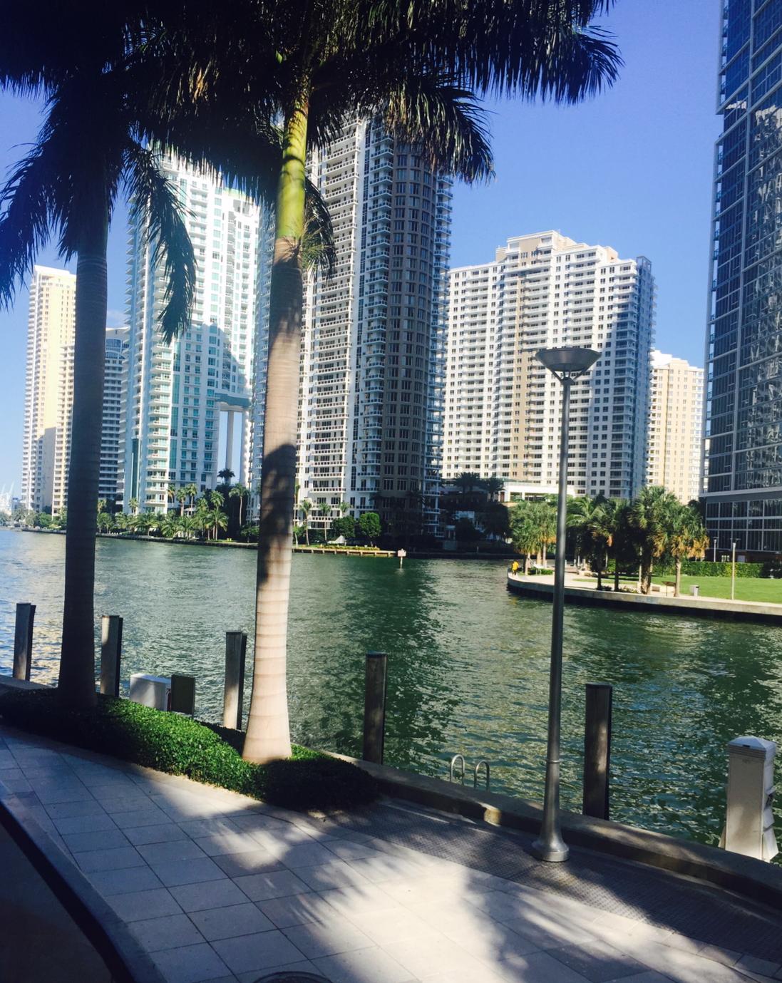 Epic Hotel Miami view