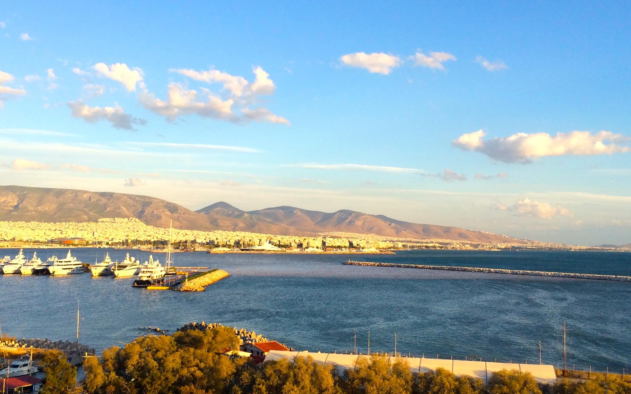 An Athens seaside jetsetter playground.