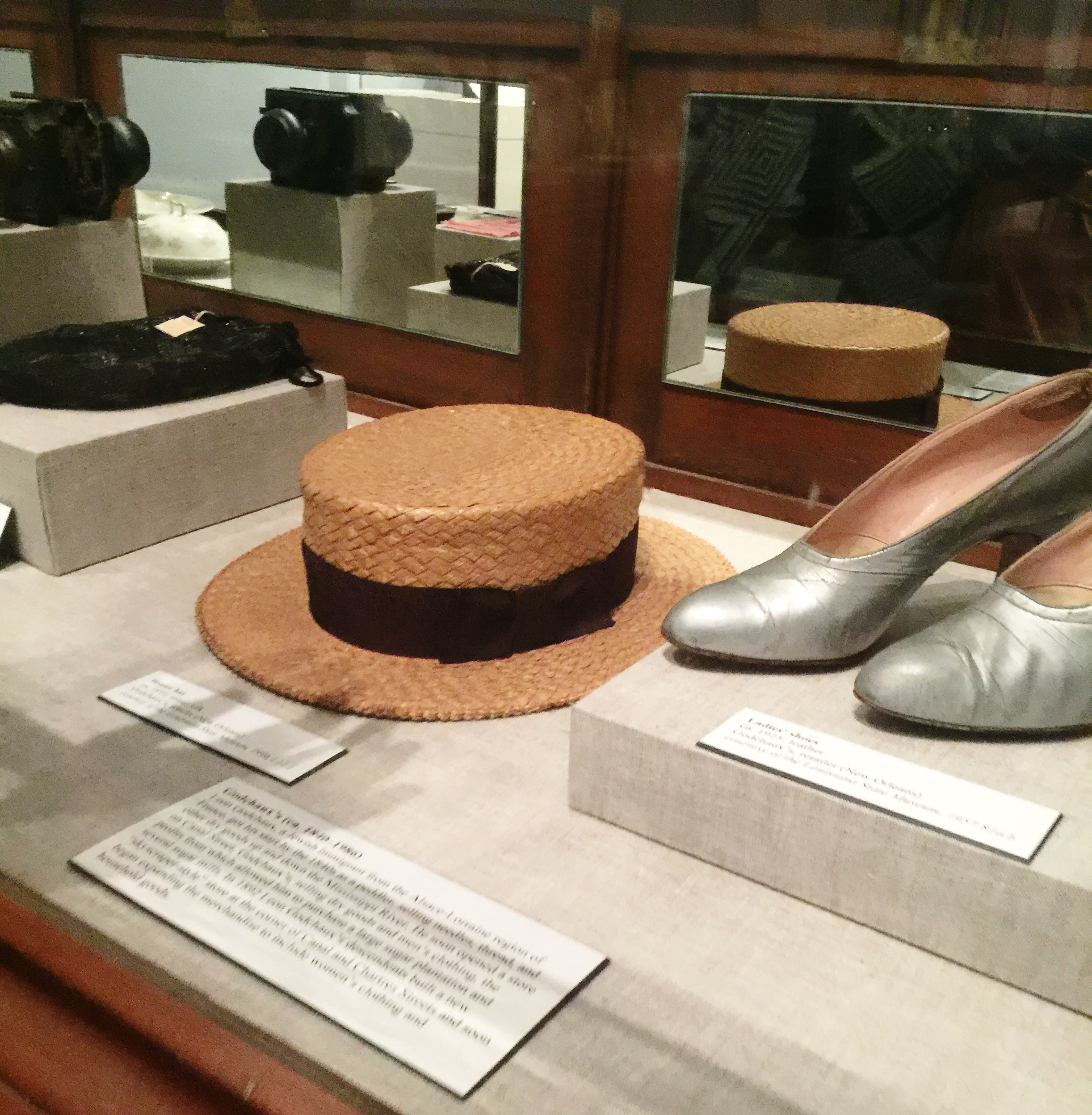 From the Shopping in New Orleans, 1825-1925 exhibit.
