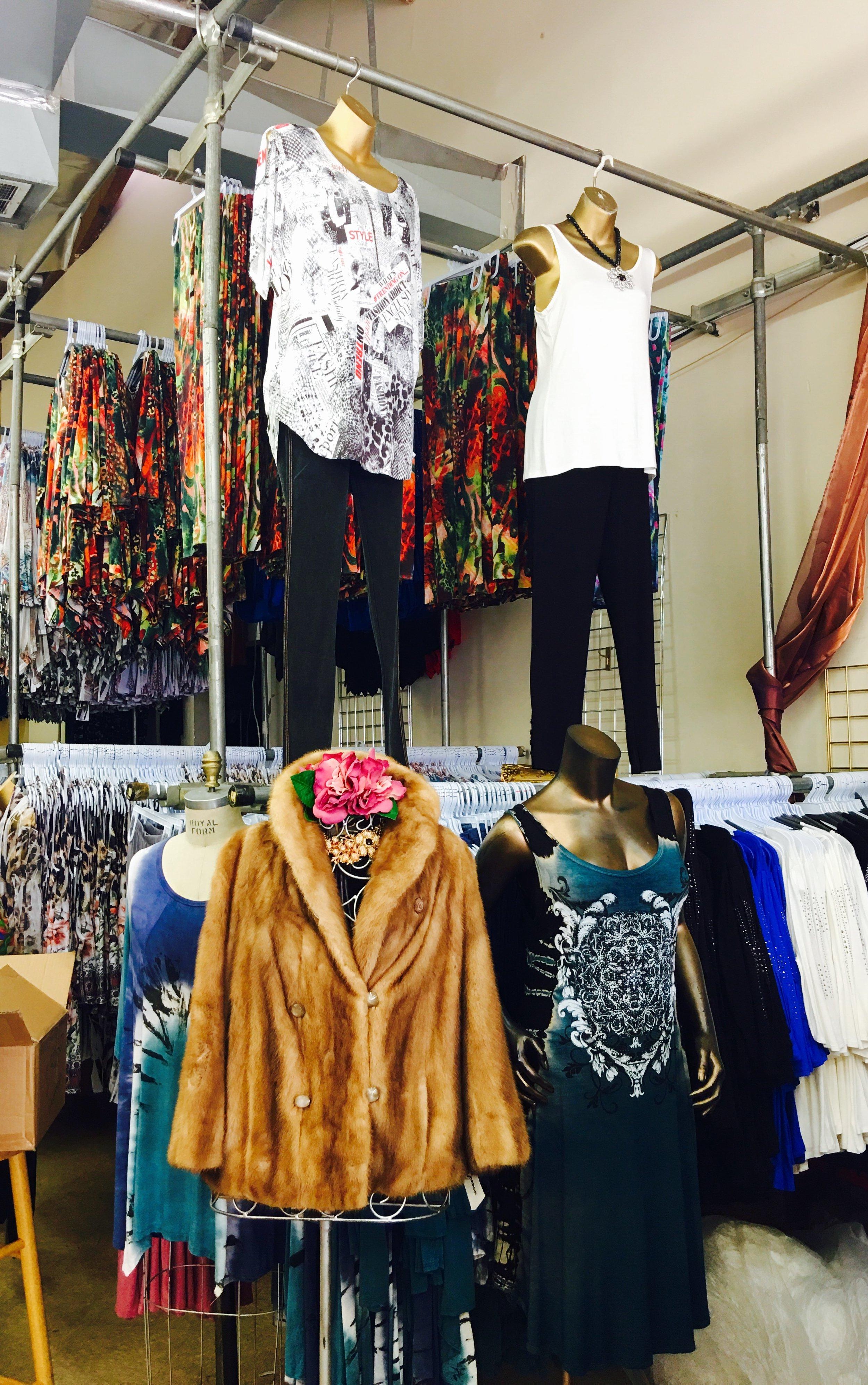 Astrid Solo Travel Advisor - LA Fashion District