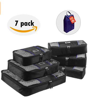 Keep your suitcase organized with UBAG Travel Packing Cubes