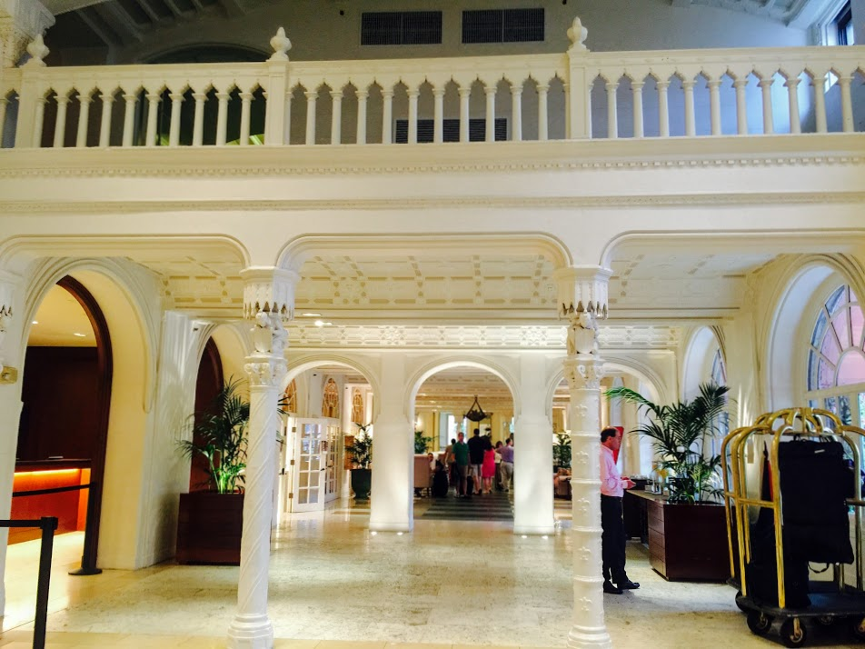 The Lobby of The Boca Raton Resort and Club