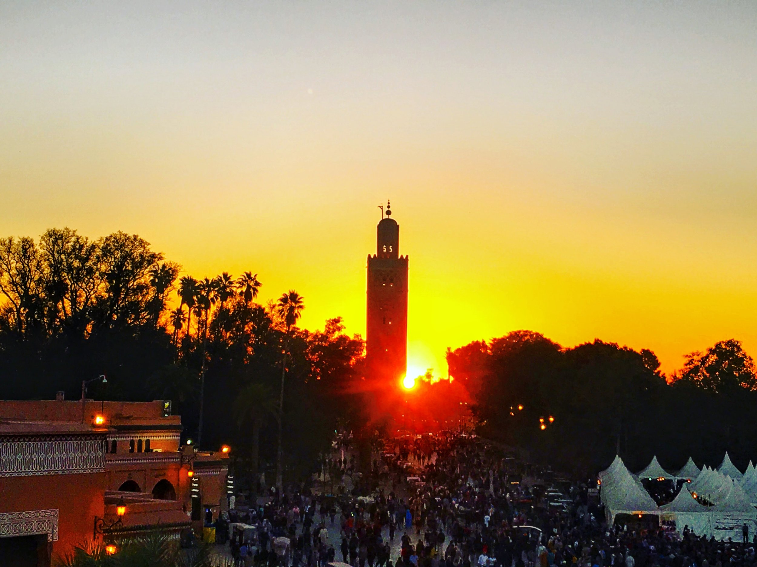Sunset in Marrakesh