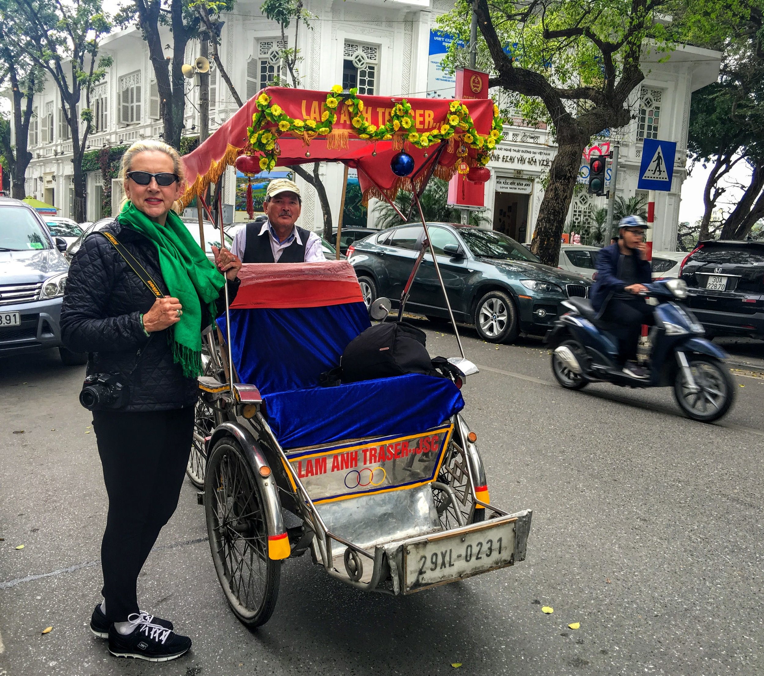 Astrid Clements in Hanoi