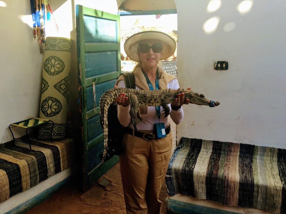 Holding a Crocodile for Good Luck.JPG