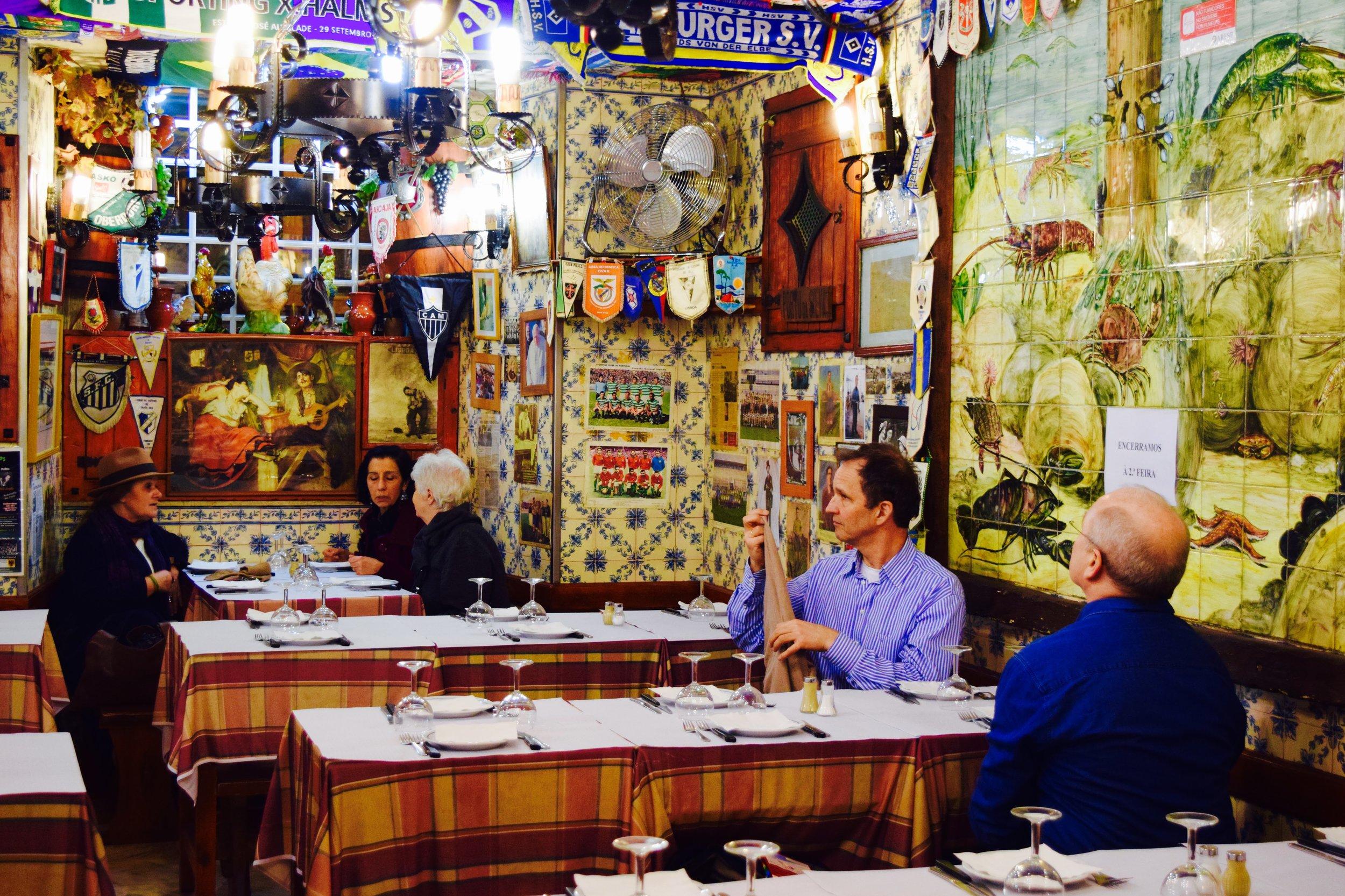 Adega de Sao Roque Taverna in Lisbon