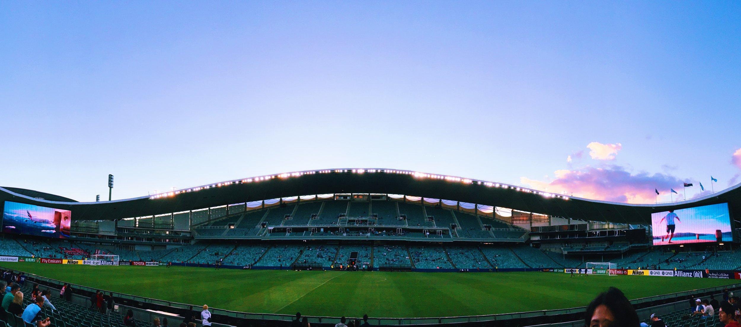 Allianz stadium, Sydney
