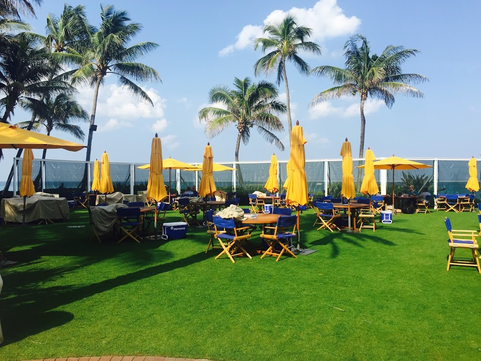 The Breakers, Palm Beach outdoor dining