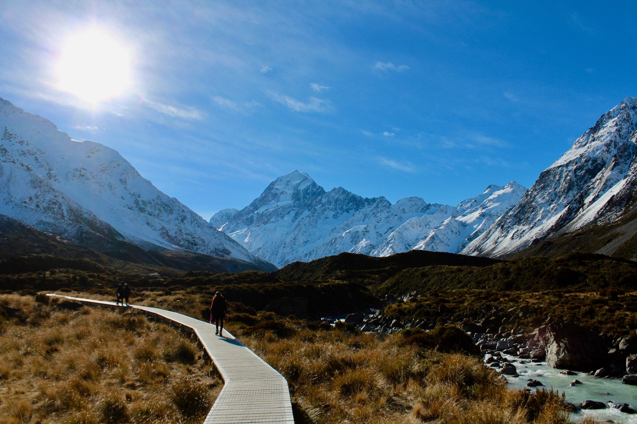 The Hooker Valley Track
