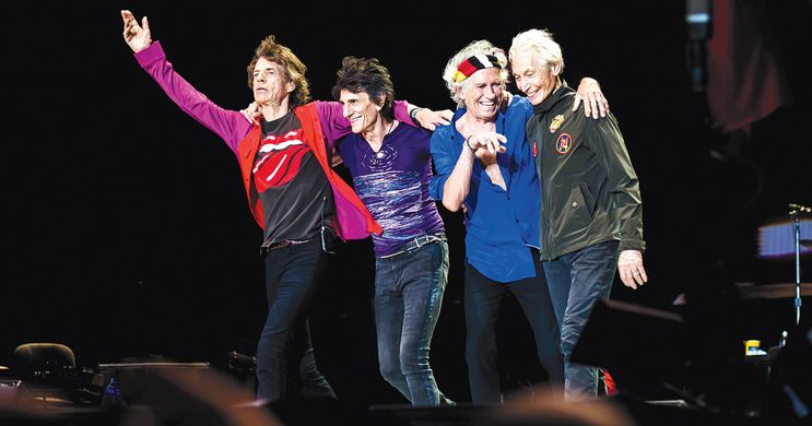 The Rolling Stones are headlining in 2019! Photo via  Rolling Stone