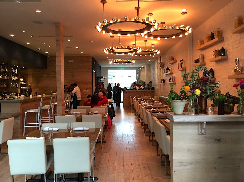 Shaya restaurant interior