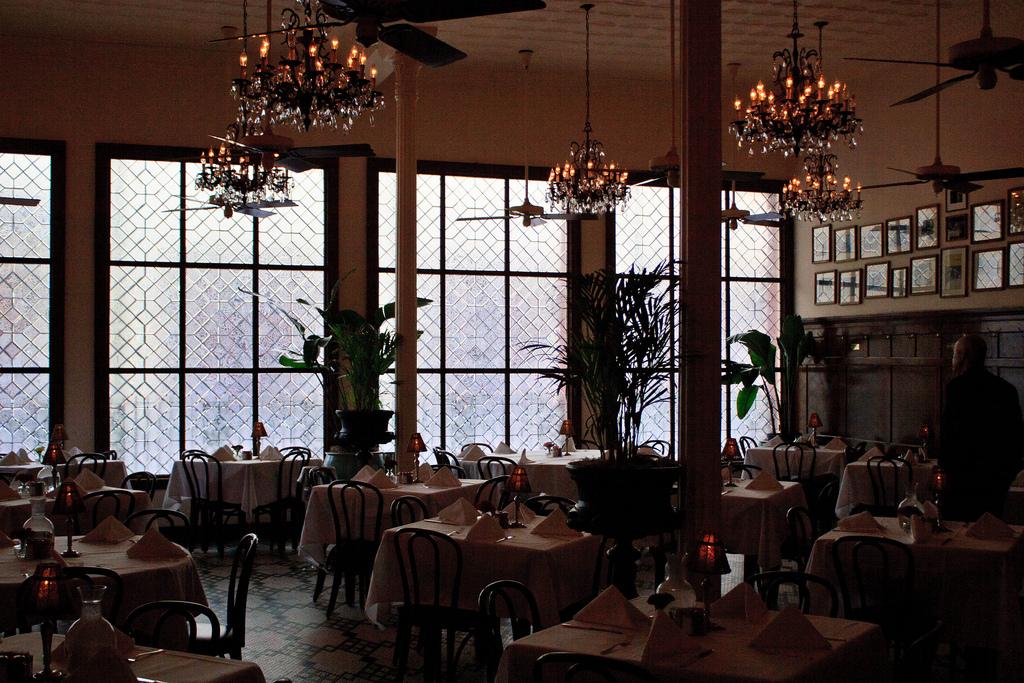 Arnaud's dining room.  Photo  by  Gary J. Wood  via flickr.